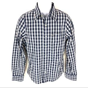 Abercrombie & Finch Plaid Button Long Sleeve Shirt